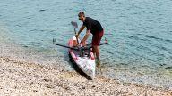 RowMotion® Rowing Skid F auf Airskiff 17'(517)