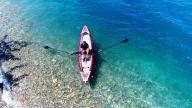 RowMotion® Rowing Skid Y on AIRKAYAK 16' (485)