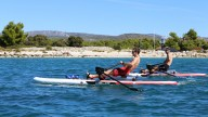 RowVista® Rowing Skid auf F SUP 14'(426)