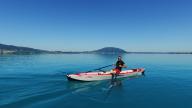 RowMotion® Rowing Skid Y on AIRKAYAK 16'