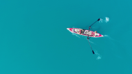 RowVista® Rowing Skid Y auf AIRKAYAK 16'
