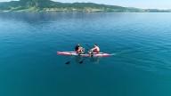 RowVista® & RowMotion® Rowing Skid F auf DUDE 18'