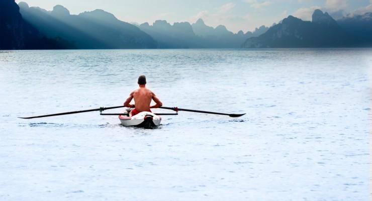 RowMotion® Rowing Skid Y auf AIRKAYAK 16' (485)