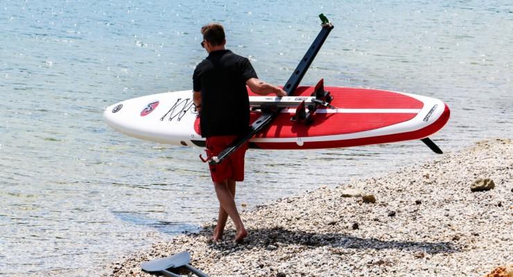 RowMotion® Rowing Skid F auf SUP 14' (426)