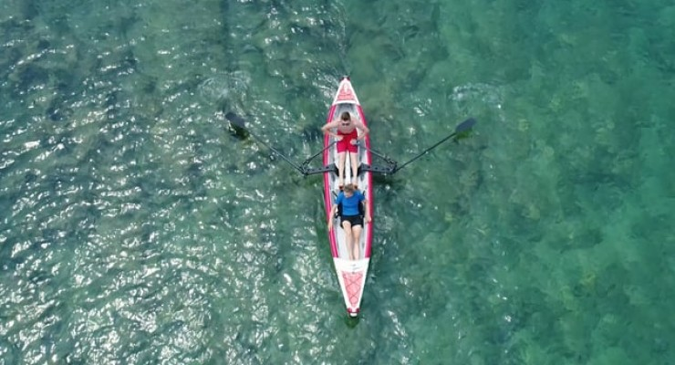 "ROWonAIR® | Row With ""RowVista®"" - Row On ""AIRKAYAK 16' (485)"""
