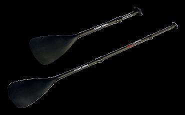 Carbon SUP Paddel 3-teilig / Notpaddel kurz