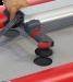 Einfaches Positionieren des Rowing Skids